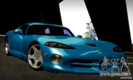 Dodge Viper für GTA San Andreas zurück linke Ansicht