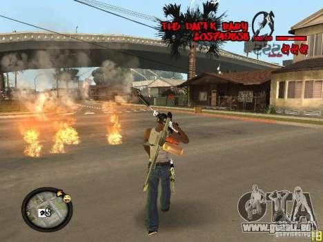 Hud by Dam1k pour GTA San Andreas quatrième écran