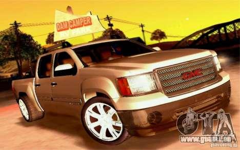 GMC Sierra 2011 pour GTA San Andreas vue de côté