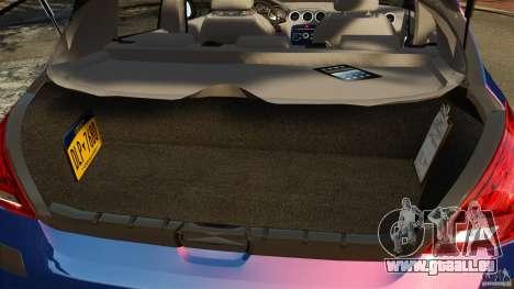 Peugeot 308 2007 pour GTA 4 vue de dessus