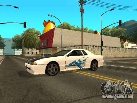 Vinyle pour Elegy pour GTA San Andreas