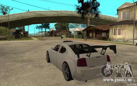 Dodge Charger 2009 pour GTA San Andreas sur la vue arrière gauche