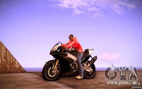 Aprilia RSV-4 Black Edition pour GTA San Andreas