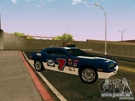 Dodge Challenger SRT8 pour GTA San Andreas vue de côté