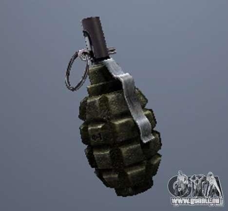 Une série d'armes de stalker V2 pour GTA San Andreas troisième écran