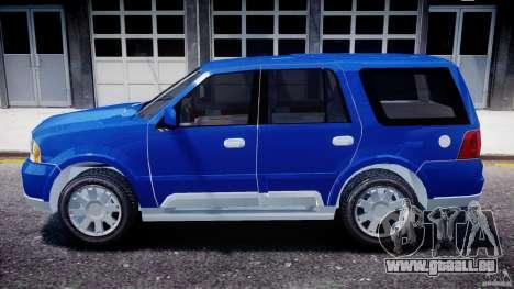Lincoln Navigator 2004 pour GTA 4 est une gauche
