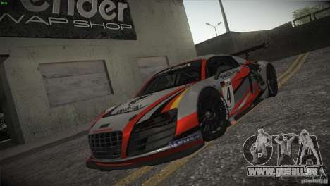 Audi R8 LMS für GTA San Andreas Räder