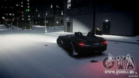 Mercedes Benz McLaren SLR Stirling Moss für GTA 4 rechte Ansicht