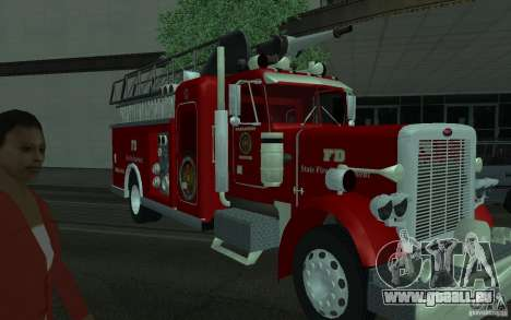 Peterbilt 379 Fire Truck ver.1.0 für GTA San Andreas