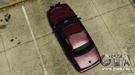 Ford Crown Victoria Police Unit [ELS] pour GTA 4 est un droit