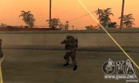 Soldaten aus der CoD MW für GTA San Andreas zweiten Screenshot