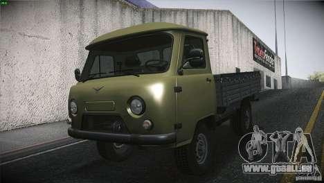 UAZ 3303 Kaulquappe für GTA San Andreas