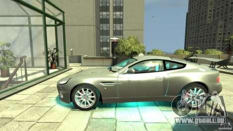 Aston Martin Vanquish S v2. 0 ohne Muskelaufbau für GTA 4 linke Ansicht