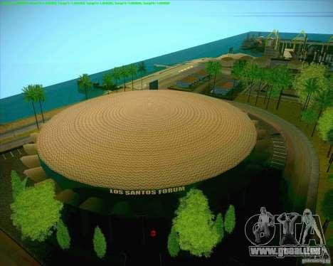 Nouvelles textures Los Santos Forum de stade pour GTA San Andreas