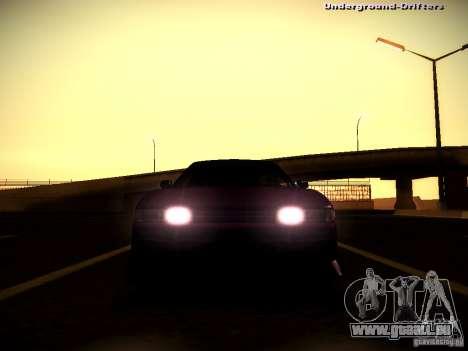 Nissan Silvia S13 Tandem Of DIE für GTA San Andreas Innenansicht