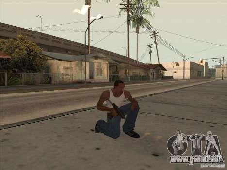 Nouveau Pack d'armes domestiques pour GTA San Andreas quatrième écran