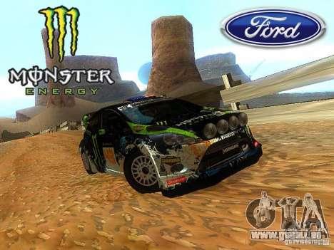 Ford Fiesta RS WRC 2012 pour GTA San Andreas