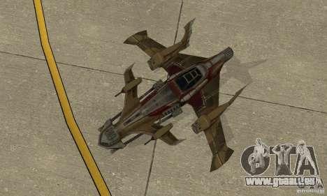 Hydra TimeShift Skin 1 für GTA San Andreas Rückansicht