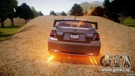 Subaru Impreza WRX STi 2011 für GTA 4 Räder