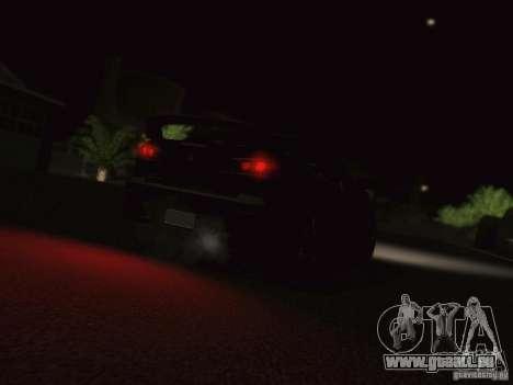 Mitsubishi  Lancer Evo X BMS Edition für GTA San Andreas Rückansicht
