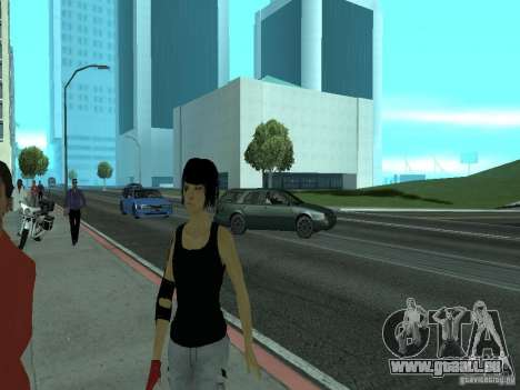 Mirrors Edge Faith pour GTA San Andreas