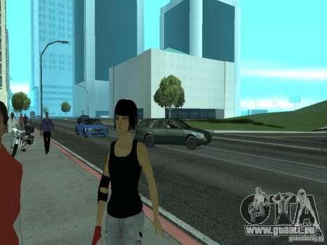 Mirrors Edge Faith pour GTA San Andreas