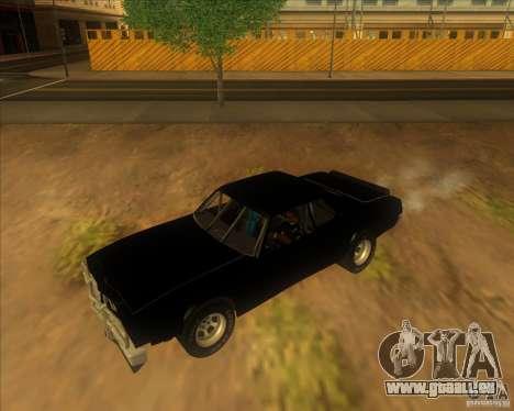 Jupiter Eagleray MK5 pour GTA San Andreas laissé vue
