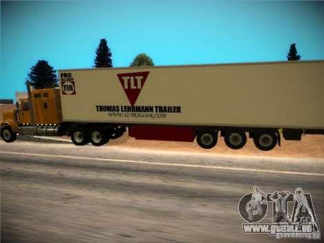 Kühlschrank-trailer für GTA San Andreas Seitenansicht