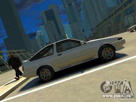 Toyota Corolla AE86 EPM v3.0 pour GTA 4 est une gauche