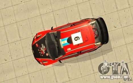 Ford Focus RS WRC 08 für GTA San Andreas Motor