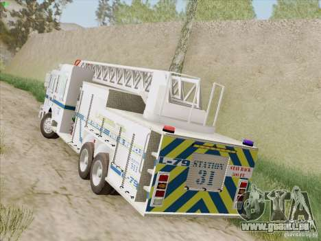 Pierce Puc Aerials. Bone County Fire & Ladder 79 für GTA San Andreas rechten Ansicht