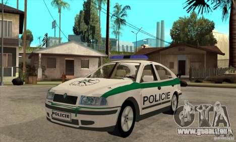 Skoda Octavia Police CZ für GTA San Andreas