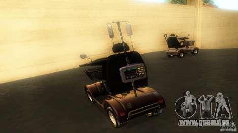 Elektroscooter - Speedy für GTA San Andreas Innenansicht