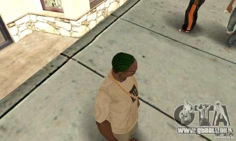 Grüne kornrou für GTA San Andreas