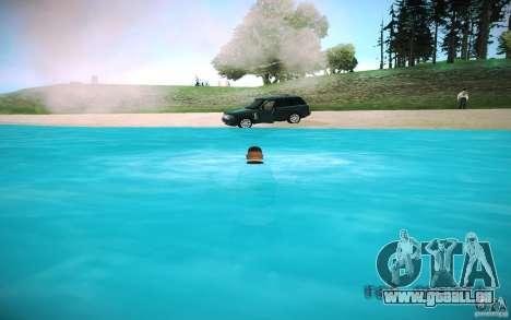 HD-Wasser für GTA San Andreas sechsten Screenshot