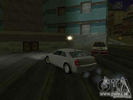 Chrysler 300C HEMI 5.7 2009 für GTA San Andreas zurück linke Ansicht