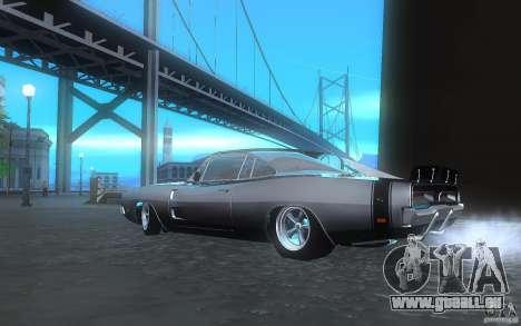Dodge Charger RT 69 pour GTA San Andreas sur la vue arrière gauche