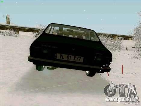 Dacia 1310 Sport pour GTA San Andreas sur la vue arrière gauche