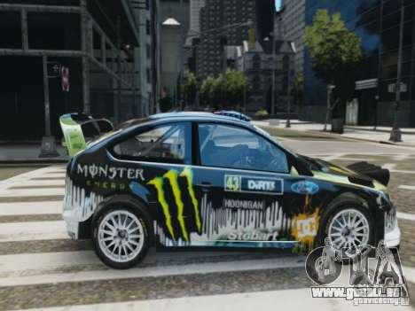 Ford Focus RS WRC pour GTA 4 est un droit