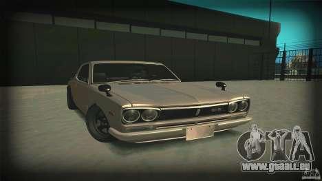 Nissan Skyline 2000GT-R JDM Style pour GTA San Andreas vue arrière