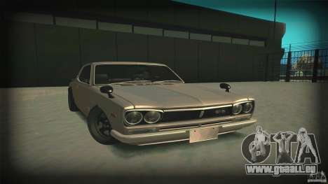Nissan Skyline 2000GT-R JDM Style für GTA San Andreas Rückansicht