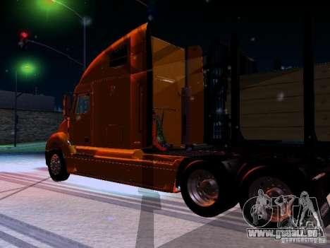 Freightliner Columbia für GTA San Andreas zurück linke Ansicht