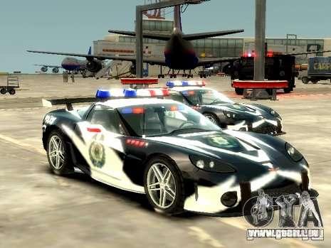 Chevrolet Corvette Z06 Police pour GTA 4
