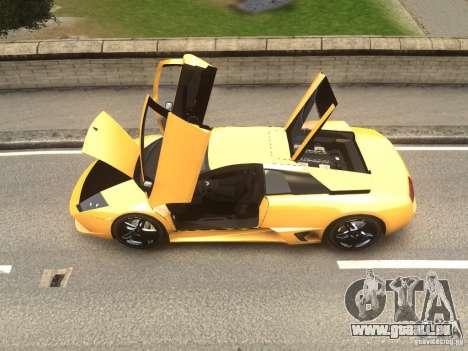 Lamborghini Murcielago LP640 2007 pour GTA 4 Vue arrière de la gauche