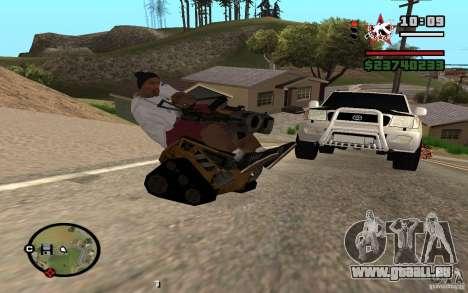 Vallée pour GTA San Andreas laissé vue