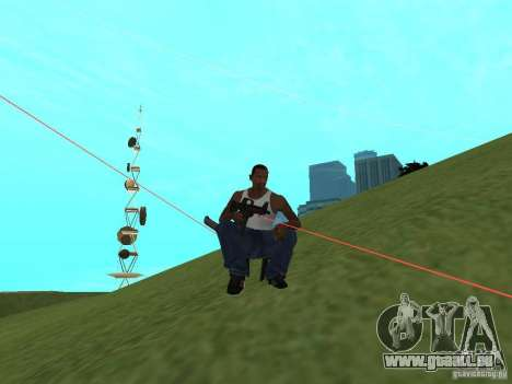 Laser Weapon Pack für GTA San Andreas fünften Screenshot