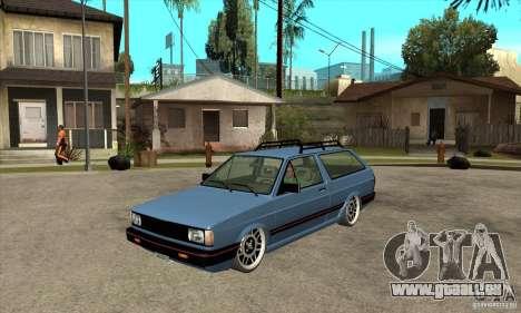 VW Fox 1989 v.2.0 für GTA San Andreas