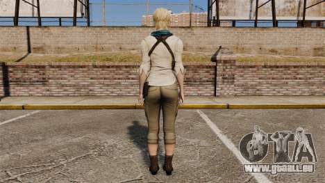 Sherry Birkin pour GTA 4 troisième écran