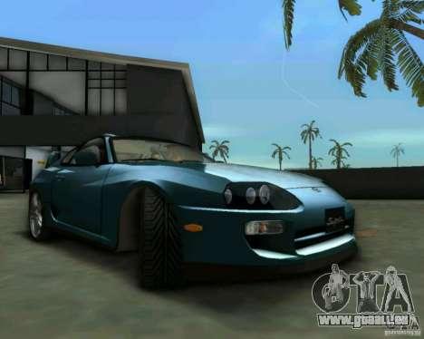 Toyota Supra für GTA Vice City rechten Ansicht