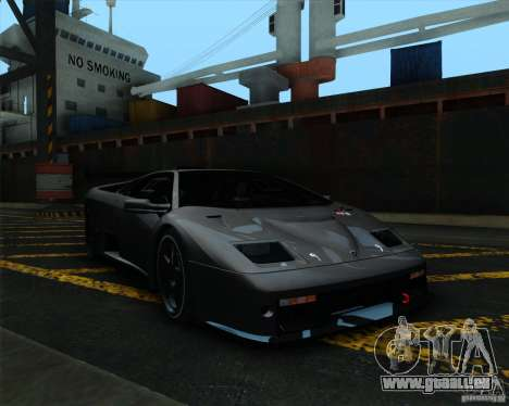 Lamborghini Diablo GTR V1.0 1999 für GTA San Andreas linke Ansicht